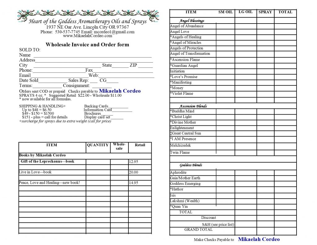 Aromatherapy Product Details – Mikaelah Cordeo